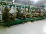 최상에 있는 코프라 유압기 또는 코코낫유 적출 기계