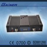 répéteur de Triband de signal de portable de 20dBm GSM/Dcs/WCDMA (GCPR-GDW20)
