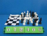 昇進のギフトの教育おもちゃのプラスチック遊ぶチェスの試合(012405)