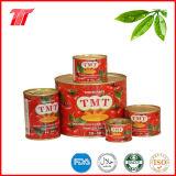 Pasta de tomate en conserva sana de Tmt Marca con el precio bajo