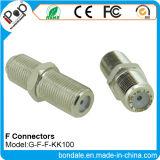 Conetores do conetor coaxial de BNC F F Kk100 para conetores do RF