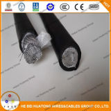 セリウムのListed 50mm2 70mm2 PVC Rubber/CPE/Pcp Sheathed Copper Clad AluminiumかAluminum/Copper Welding Cable