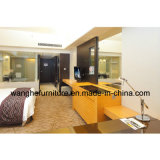 Pode ser a mobília personalizada do quarto de convidado do hotel