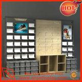 Soporte de visualización de madera del almacén de zapato para la venta al por menor