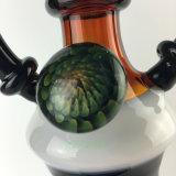 Tubos que fuman del tubo que fuma de la cachimba de agua del tubo del claxon colorido pesado grueso alto de cristal de cristal del buey