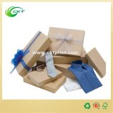 Großzügige Schmucksache-Geschenk-Kappe und Buttom Kasten mit Farbband (CKT-CB-301)