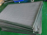 Filtre à air net de résistance de température élevée de filtre en métal