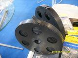 Pvc het Met een laag bedekte Zwarte Vastbinden van het Roestvrij staal