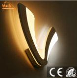 Material de acrílico de fantasía V lámpara de pared en forma de café
