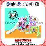 Diapositiva del bebé y diapositiva con el aro de baloncesto