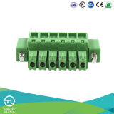 Тангаж струбцина PCB прямого зеленого цвета соединения M3 винта 3.5 mm поднимая