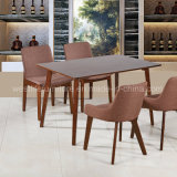의자를 식사하는 새 모델 직물