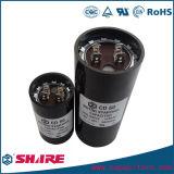 CD60 tipo capacitor de começo do motor do refrigerador, capacitor do acionador de partida do condicionador de ar