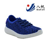Zapatos superiores materiales del deporte de la nueva tela buena