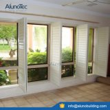Otturatore della finestra che fa scorrere gli otturatori esterni registrabili dell'alluminio dell'otturatore