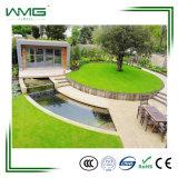 Pelouse artificielle d'herbe d'horizontal avec le prix bas