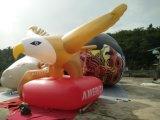 Aerostato di pubblicità gonfiabile giallo dell'aquila di volo dell'elio da vendere