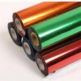 talla caliente de papel caliente de la aduana del sello de la lámina para gofrar del papel colorido de la lámina de PVC de los 0.64X120m