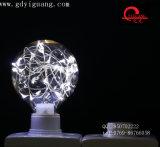 Ampoule colorée spéciale du matériau G80 de câblage cuivre d'ampoules d'étoile de RVB DEL