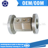 Peça de maquinaria do metal, precisão que faz à máquina as peças do CNC
