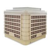 Zentrifugaler Ventilator-an der Wand befestigte energiesparende industrielle Verdampfungsluft-Kühlvorrichtung