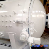 1500X7500mm ASME生産システムを治す産業カーボンファイバー