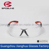 Carpintería balística patentada de la soldadura del corte de la cebolla de la lente de las gafas de seguridad del precio competitivo de Eyewear de los productos superventas claramente