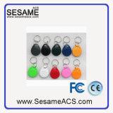 Tag RFID à affichage personnalisable de l'ABS 125kHz de vente chaude (T5577)