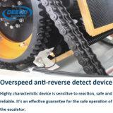 Scala mobile larga sicura dell'interno di punto di grado 1000mm del trasportatore 30
