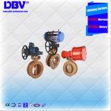 Metal pneumático de Wcb Dn300 Cl150 para metal a válvula de borboleta excêntrica tripla