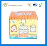 색지 집 모양 Top-Grade 장난감 포장 상자 (자석에)