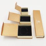 반지 보석 (J08-E1)를 위한 펀던트 팔찌 팔찌 Kraft 종이 고정되는 상자