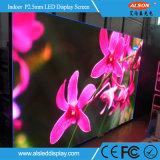 P2.5mm örtlich festgelegter HD LED-Innenbildschirm
