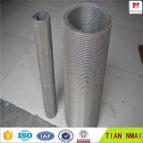Treillis métallique de tamis à mailles/tungstène de tungstène