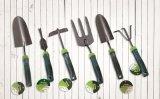 Les outils de jardin de qualité ont poli la truelle de main de pelle à jardin d'acier inoxydable