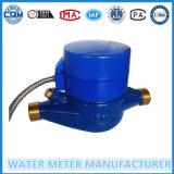Contador del agua teledirigido inteligente, atado con alambre, contador del agua directo de la lectura