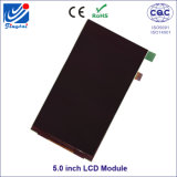 5.0 polegadas alto brilho ângulo de visão total IPS TFT LCD