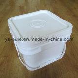 Ведро горячего квадрата качества еды сбывания пластичное для мороженного 5L