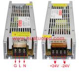 24V-250W alimentazione elettrica non impermeabile sottile di tensione costante LED