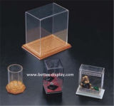 De organische Doos van het Weefsel van het Plexiglas van de Doos van het Weefsel van het Glas (btr-P6019)