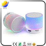Altofalante Add-in de Bluetooth do cartão das cores opcionais sem fio da falha A9 do brilho mini