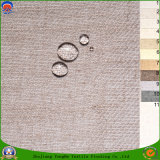 Nuevo tela tejida de la cortina del poliester de la materia textil apagón ignífugo impermeable casero