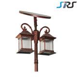 Tipo popolare indicatore luminoso solare di stile di Classica per illuminazione del giardino con l'energia di verde di risparmio di potere