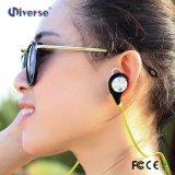 Rádio dos auriculares de Bluetooth dos auscultadores da bordadura micro para o esporte
