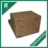 Caixa de armazenamento Foldable do papel ondulado de 5 camadas grande