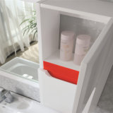 Шкаф ванной комнаты твердой древесины самомоднейшего типа шикарный