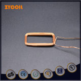Bobina de carga modificada para requisitos particulares rectangular del receptor del aire
