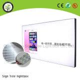 Rectángulo ligero puesto a contraluz Frameless del perfil de aluminio del LED