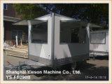 Carros del helado de los carros del café con leche de Ys-Fb290b los 2.9m para la venta