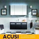 卸し売り現代様式の純木の浴室の虚栄心の浴室用キャビネットの浴室の家具(ACS1-W07)